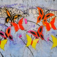 Flight Of the Butterflies 11x14 Giclee on Canvas