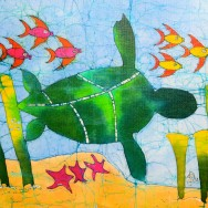 The Magic Turtle 11x14 Giclee on Canvas