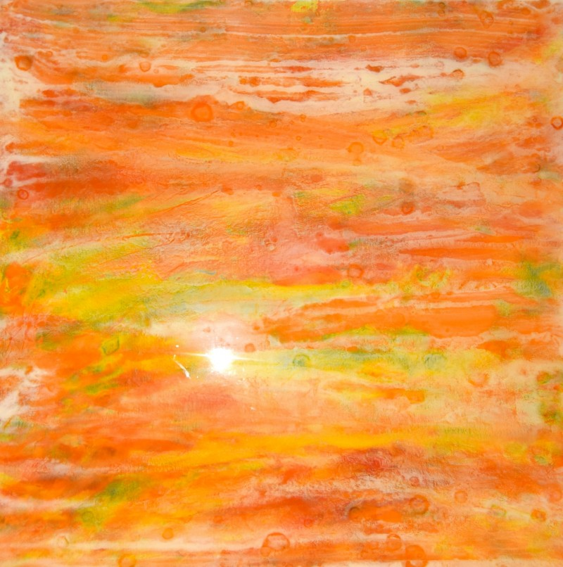Passages 1 40x40 Mixed/ resin