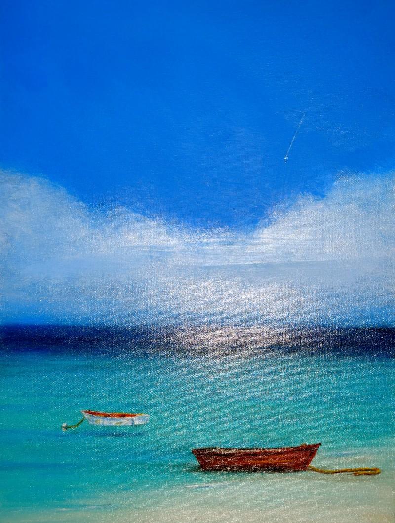 Calm 20x14 Acrylic On Canvas