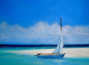 Gone Ashore 24x30 Acrylic On Canvas