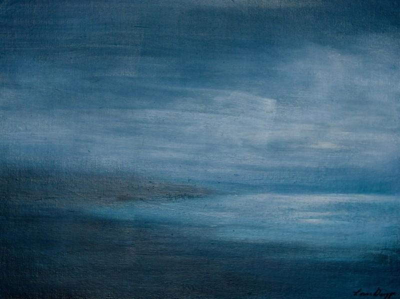 Last Light  14x18 Acrylic On canvas