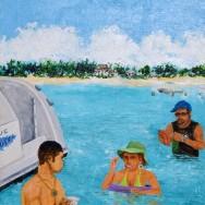 Rum Point 12x16 Acrylic On Canvas