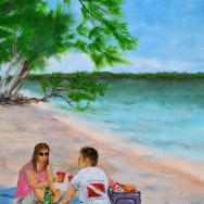 Kaibo 12x16 Acrylic On Canvas