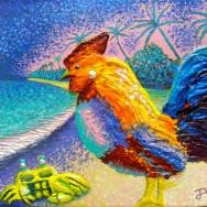 Good Talking II 11x14 Acrylic On Canvas