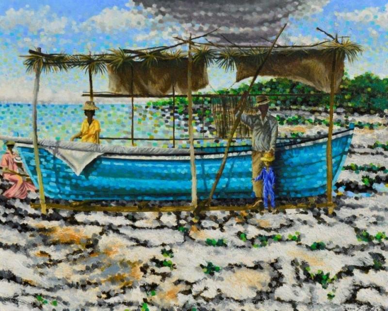 24x30 Bob Croft Series #1  24x30 Oil On Canvas