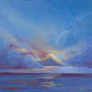 Caribbean Nights # 3 30x22 Limited Edition Giclee on Canvas