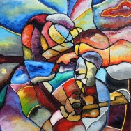 Soul Expressions 22x28 Oil On Canvas